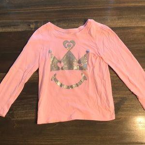 Children's Place Toddler Girl Long Sleeve Shirt